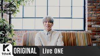 Live One 라이브원 : K.will 케이윌  _ My Star 너란 별  생중계 깜짝 인사말