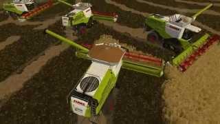 Farming Simulator 15 S8E1 Multiplayer - Wielkie Żniwa z Ekipą | 4 x ClassLexion770TT