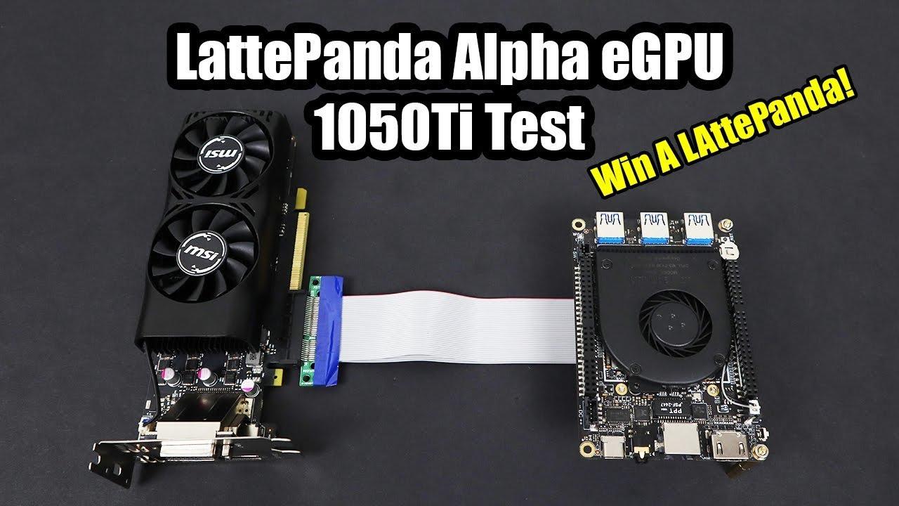 LattePanda Alpha 8G/64GB (Win10 Pro activated) – A Tiny