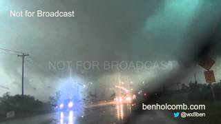 Norman, OK Tornado May 6, 2015 Dashcam Video