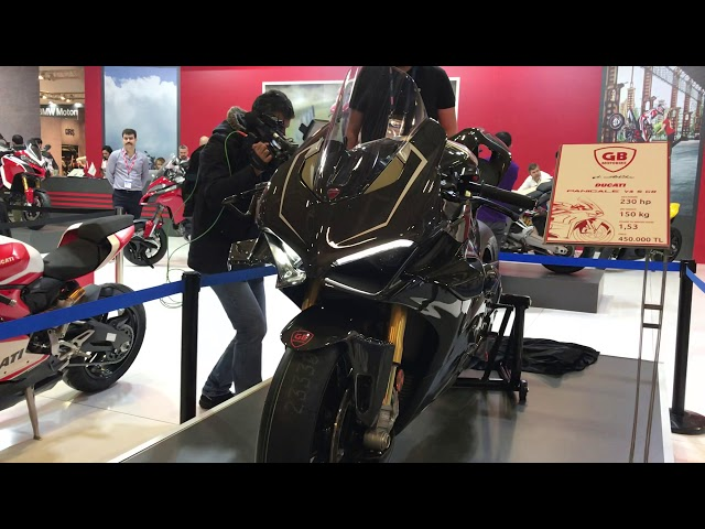 Ducati V4 s egzoz sesi.