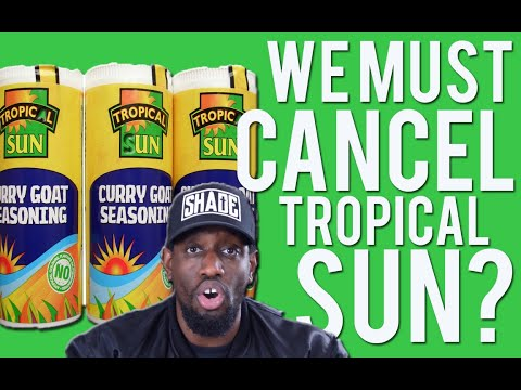 Black People Cancelling Tropical Sun and Boycotting?