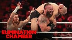 Braun Strowman dismantles Cesaro & Nakamura: WWE Elimination Chamber 2020 (WWE Network Exclusive)