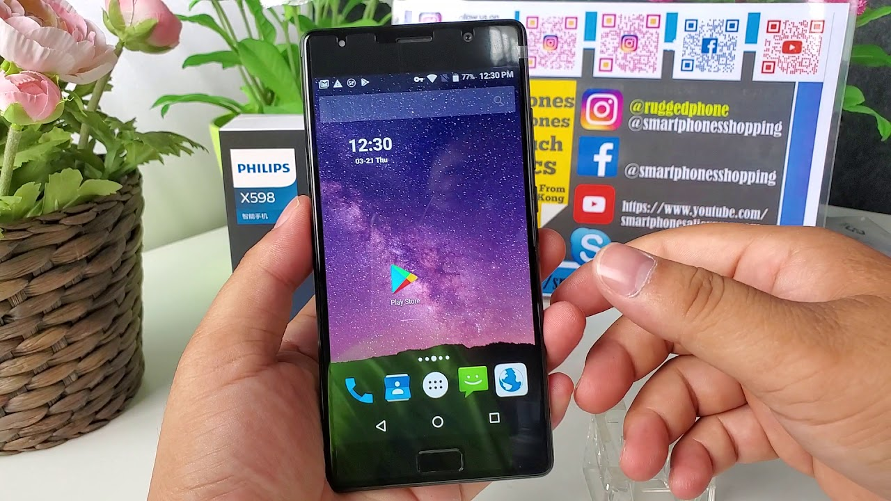 Philips Xenium X598 5.5 inch FHD 4GB 64GB 4000mAH 13mp+13mp Review - YouTube