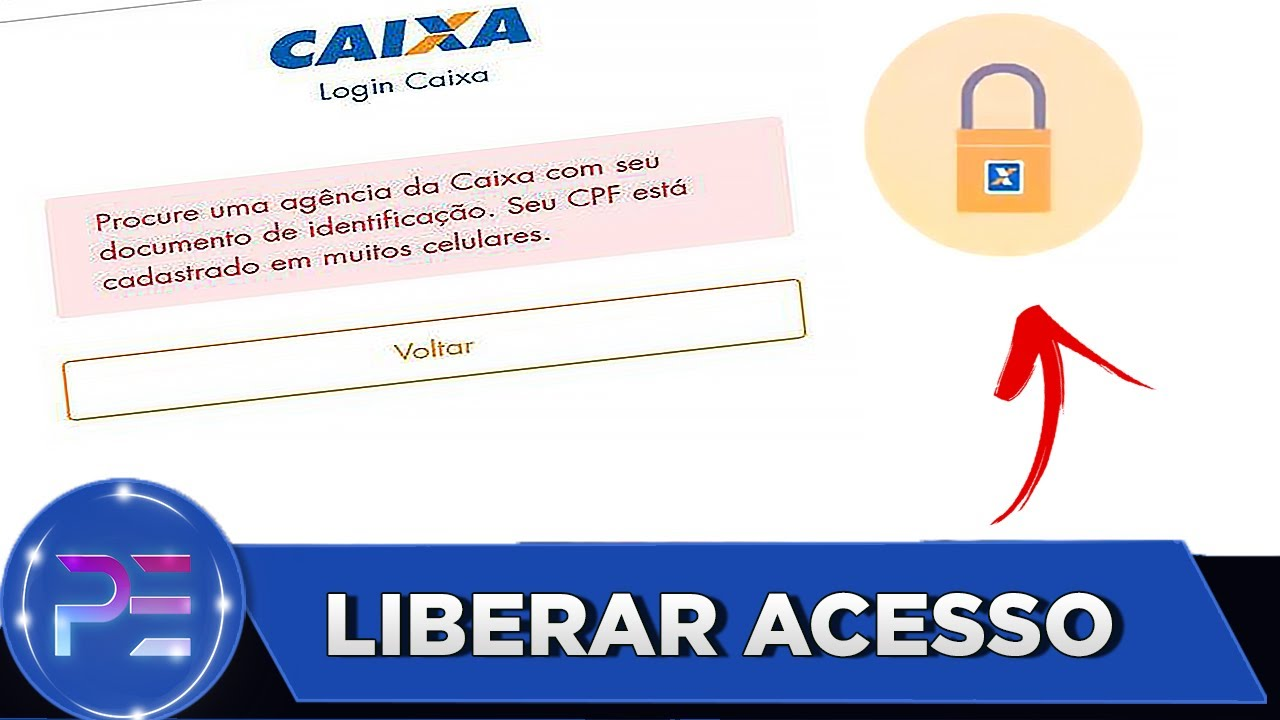 TODOS OS PASSOS PARA  LIBERAR ACESSO - CAIXA TEM (RESOLVIDO)