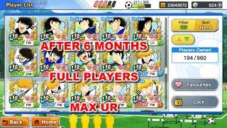 Captain Tsubasa Dream Team: Show one account after 6 month play this game