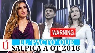 El 'pacto' que sacude a Carlos y Marilia y señala a Julia en Operación Triunfo 2018 Gala 7