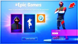 VOICI HOW DÉBLOQUER the IKONIK SKIN on Fortnite!