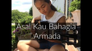 Video Asal Kau Bahagia ~ Armada | Fingerstyle Guitar Cover by Lanvy download MP3, 3GP, MP4, WEBM, AVI, FLV November 2017