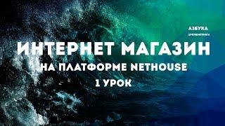 Создание ИМ на платформе Nethouse урок 1