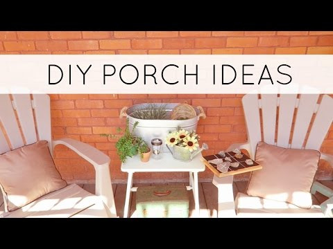 Summer Porch Tour with Dollar Tree DIYs | Outdoor DIY and Decor Challenge