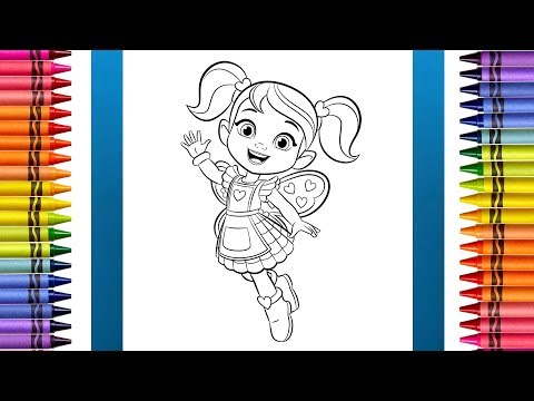 50+ Butterbeans Cafe Coloring Pages Printable - cool wallpaper