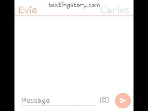 "Descendens Text story ""evie does the ""i am pregnant prank"" on carlos"