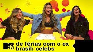 Y, Any e Victria reagem s cenas de Lipe De Frias com o Ex Brasil Celebs