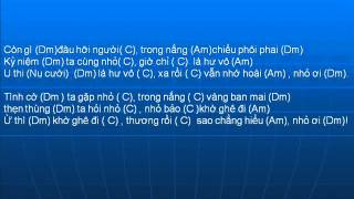 Nho Oi Lyrics Hop Am Guitar  LyHai