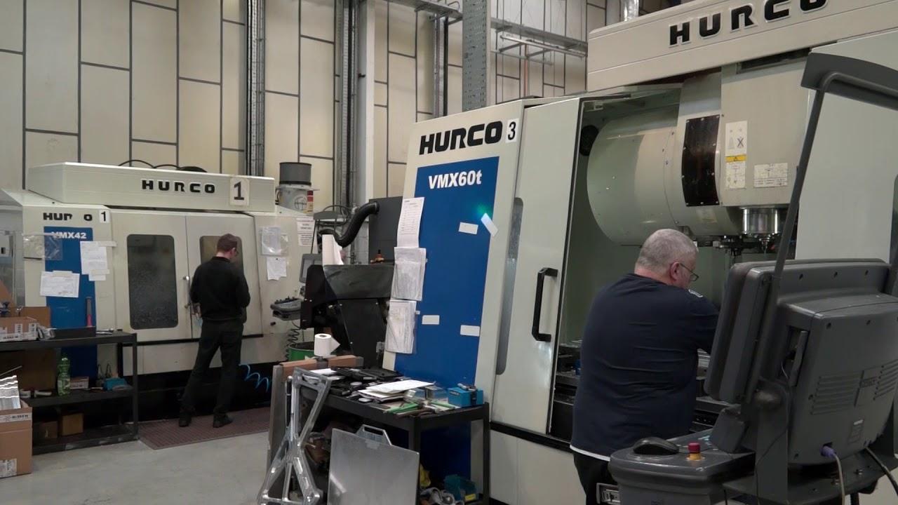 B-Tech Engineering - #Capacity - Hurco VMX60T Milling