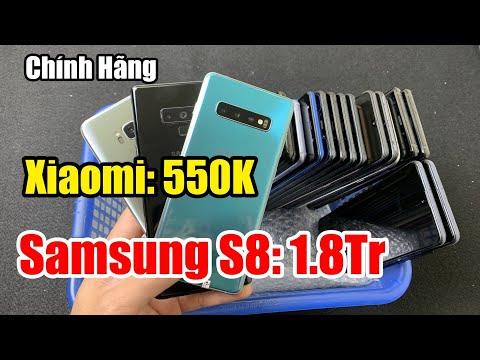 Điện Thoại Cũ Chính Hãng   Xiaomi 550k   Samsung S8 1,8Tr   Note 9 - S10 Plus - A71 full Box Giá Rẻ!