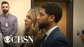 Smollett pleads not guilty on charges of lying about attack