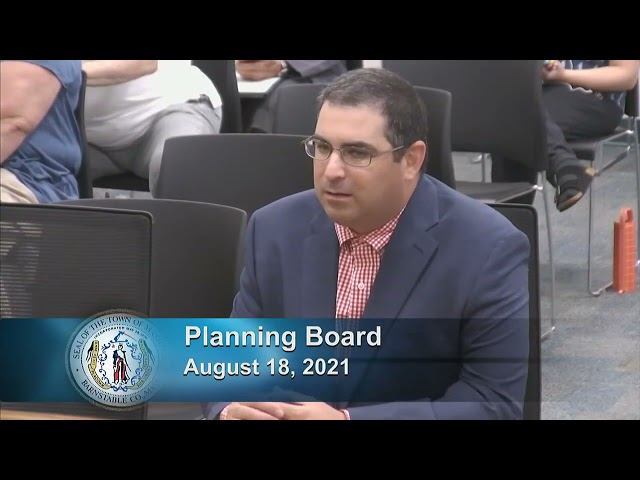 Planning Board 8-18-21