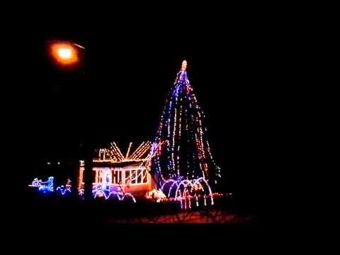 Christmas light show 2014 muncie Indiana
