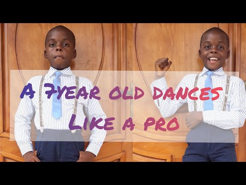 7year old dances African music like a Pro. Cameroon has got talents.