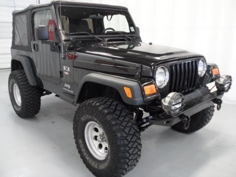 2004 jeep wrangler x lifted for sale youtube. Black Bedroom Furniture Sets. Home Design Ideas