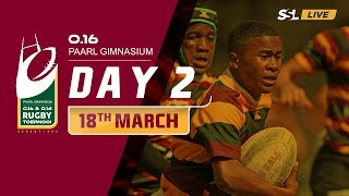 Day 2 - Paarl Gim U16 Rugby Tournament, 18 March