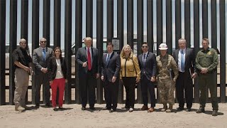 President Trump Tours 200th Mile of New Border Wall in Arizona