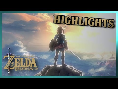 HIGHLIGHTS: Let's Play Legend of Zelda: Breath of the Wild