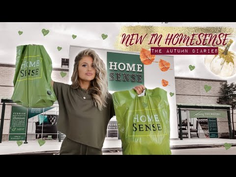 NEW IN HOMESENSE AUTUMN 2019! Come Shopping With Me! THE AUTUMN DIARIES | Gemma Louise Miles