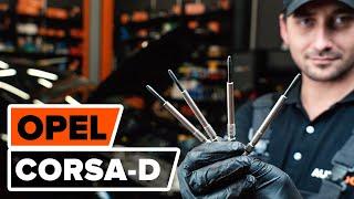 Монтаж на Държач, окачване на стабилизатора на OPEL CORSA D: безплатно видео