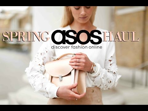ASOS SPRING HAUL    |    Unboxing & Try On   |  🌸 #FashionMumblrSpringEdit  🌸