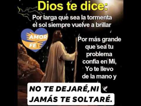 DIOS TE DICE:YO TE DOY PAZ EN MEDIOS DE LA TORMENTA.JOSUÉ 1:9 ...