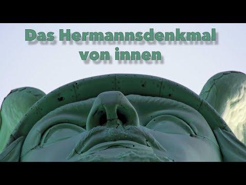 Das Hermannsdenkmal von innen