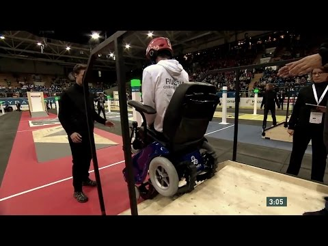CaterWil team Wheelchair race Cybathlon 2016