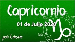 CAPRICORNIO Horóscopo de hoy 1 de Julio 2020 | El resultado del tiempo