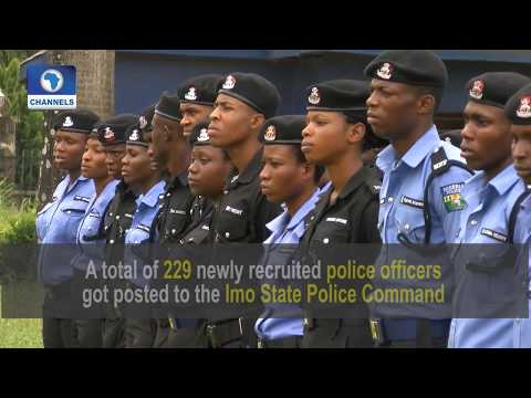 Imo CP Warns New Officers Against Unprofessional Conduct