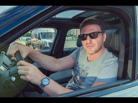 Максим Виторган возит Ксению Собчак на Range Rover Sport