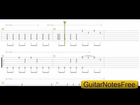 (ABBA)Mamma Mia - Sungha Jung Guitar Tab HD