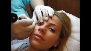 Machiaj semipermanent ochi tatuaj ochi micropigmentare Zarescu Dan ZDM http://www.machiajtatuaj.ro