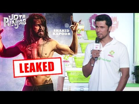 Randeep Hooda On Leaking Of Udta Punjab Movie & Piracy - YouTube