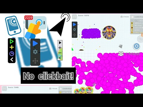 AGAR.IO MOBILE ALL MACROS /FAST/LİGHT/MEDİUM HIZLI BESLEME MACRO