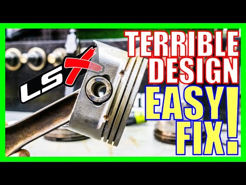 How To FIX Chevy's LS Piston Mistake – Oil Consumption Fix In Minutes [DRILLING FOR OIL]