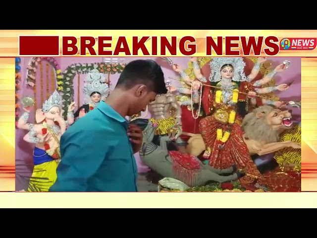 दुर्गा मंदिर में मनते मांगने पर भक्तों की मुरादे पूरी करती है माँ भगवती देखिये पी न्यूज़ पर