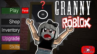 Playing Granny on ROBLOX// Where is she not seeing her?//