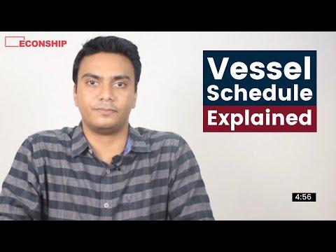 Episode 12 | Vessel Schedule Explained