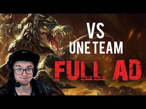 Le bon Renekton Vs une team FULL AD