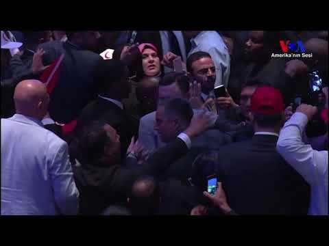 Violence Breaks Out At Erdogan Event In New York