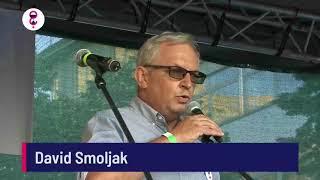 Demonstrace 5. 6. 2018 - David Smoljak
