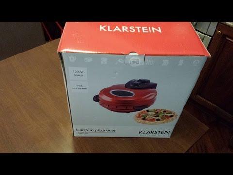 Klarstein forno per la pizza masaniello youtube - Forno per la pizza ...